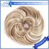 Fashion style synthetic hair bun for black women synthetic clip hair bun pieces
