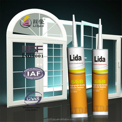 good bonding extension, fast cure acetic construction window silicone sealant