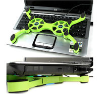 USB Mini Octopus Laptop Notebook PC computer Fan Cooler Cooling Pad Folding Coller Fan