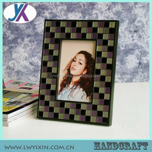 $1 dólar 5 '' X 7 '' chanfrado mosaico de vidro photo frame