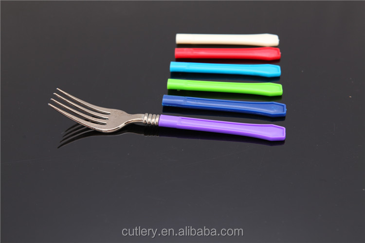 Colored disposable plastic handle cutlery set buy plastic handle cutlery set colored plastic - Flatware colored handles ...