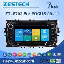 China manufactuer auto 2 din car radio for Ford Focus car radio Built-in TV tuner