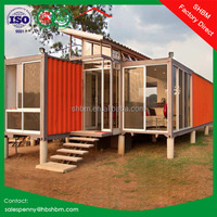 20ft eps sandwich panel light steel cheap house container price luxury prefabricated villa 40feet prefab container house
