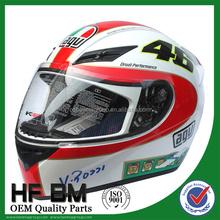 OEM carbon fiber motorcycle racing helmet , fire helmet, scooter helmet price
