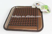 CE APPROVED factory custom best quality heat massage jade mattress tourmaline cushion seat