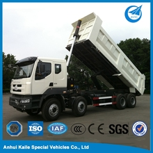 Parts loading capacity tipper dump truck