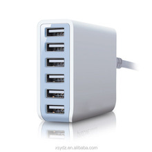 Hot selling,news Multi-functional 6 ports USB charger usb power adapter