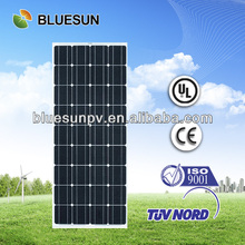 Bluesun brand cheap price mono solar panel module 100wp
