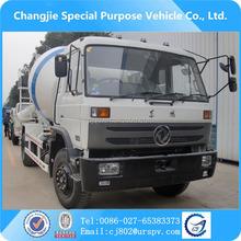 China truck Dongfeng 4*2 RHD concrete mixer trucks for sale, Dongfeng mini concrete mixer truck price