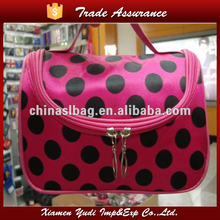 newest multi-function polyester travel cosmetic bag make up bag wholesale