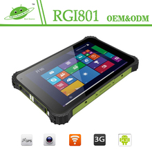 8inch NFC GPS Ublox 2d barcode scanner ip67 rugged tablet pc for Industrial