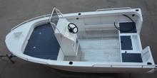 4.5m aluminum center console, side console boat