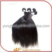 Silky Straight Indian Remi Hair Virgin Remy Indian Hair Weft Straight Silk Smooth 100% Brazilian/peruvian Human Remy Hair