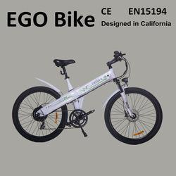 Flash, high range and high speed dirt electric bike chopper style