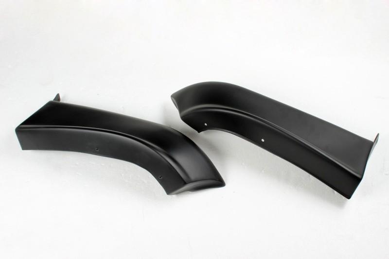 2004-2005 годов пу неокрашенная черный грунт wxr автомобиля передние бампера сплиттеры, стороне фартуки для subaru impreza 8 9
