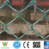 """1""""-4"""" (Zinc Coating 40-350g/m2) Hot Dipped Galvanized Chain Link Fence Manufacture"""