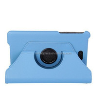 8 inch 360 rotate flip folio stand pu leahter tablet cover case