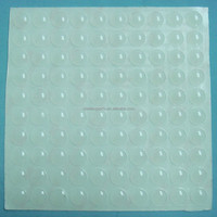 Self adhesive rubber bumpers,silicone rubber pads for furniture