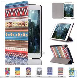 For ipad mini4 smart leather covers, for Ipad mini 4 flip cases cover