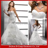 WD-1228 The latest model bridal chic wedding dresses made to order china