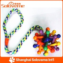 Factory Price Pet Dog Rope and Plastic Dog Toy Rubber Ball Products