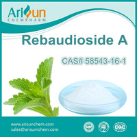 Factory Supply High Quality Stevia Extract Rebaudioside A 98%