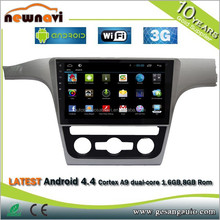 For VW passat touch screen car navigation system with CE and ROHS certificates, bluetooth function. 3G dongle car dvd