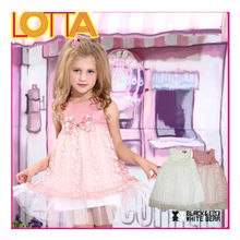 Factory Price child clothes birthday cute dress for baby girl