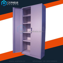 Office furniture 5 layer lightweight steel filing cabinets steel cabinet with two doors