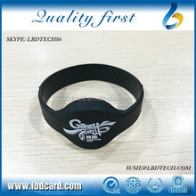 Waterproof Sillicone T5577 MF 4K S70 Contactless Wristband/ Bracelet for Party/Concert/Event/Bar Access Control