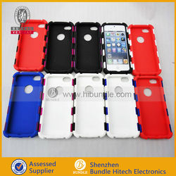 soft plastic phone case 2in1 pieces for iphone 5