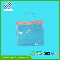 shoulder bag, printed shopping bag, pvc tote bag with zipper and handle