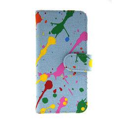 Creative design watercolour Canvas mobile phone bag mobile phone case cell phone pouch