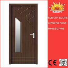 Low price interior door install glass price SC-P093