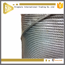 Lifting steel wire rope 10mm with ungalvanized surface