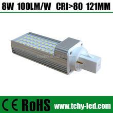 High Quality LED plc bulb g24 lamp 10W 1000Lm