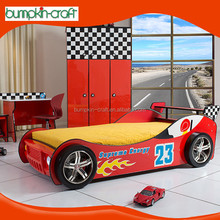 HK supply top quality beds for children in shape of the car shaped bed