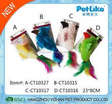 New Cat Toy catnip Birds colorful Pet Toys