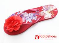 2014 New PVC wedding favors closed toe flip flops
