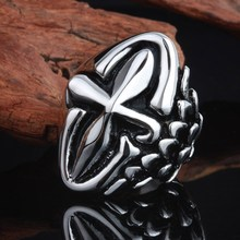 American popular stainless steel lost wax casting rings