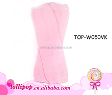Hot sale newborn leg warmers princess pink plain solid color baby leg warmers