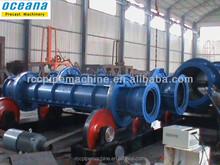 Filatura centrifuga tubo del cemento che fa macchina, maquina alcantarilla de concreto