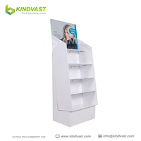 Cardboard Paper Display Stand for Hat And Scarf Retail