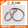 Personalized Design Functional pet collar dog leash Leather Dog Leash for Training Walking, real leather dog leash Made in China