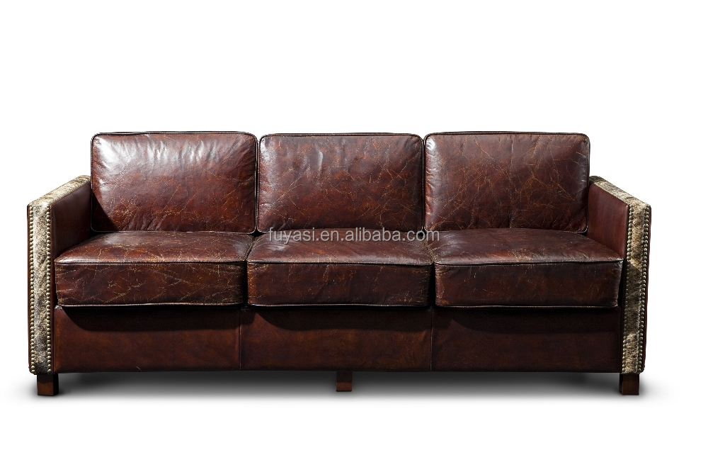 Living room sofa genuine leather antique sofa amman for Great cheap furniture