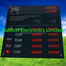 led electronic exchange rate board /Babbitt / BTR-0501(N) Indoor LED Exchange Rate
