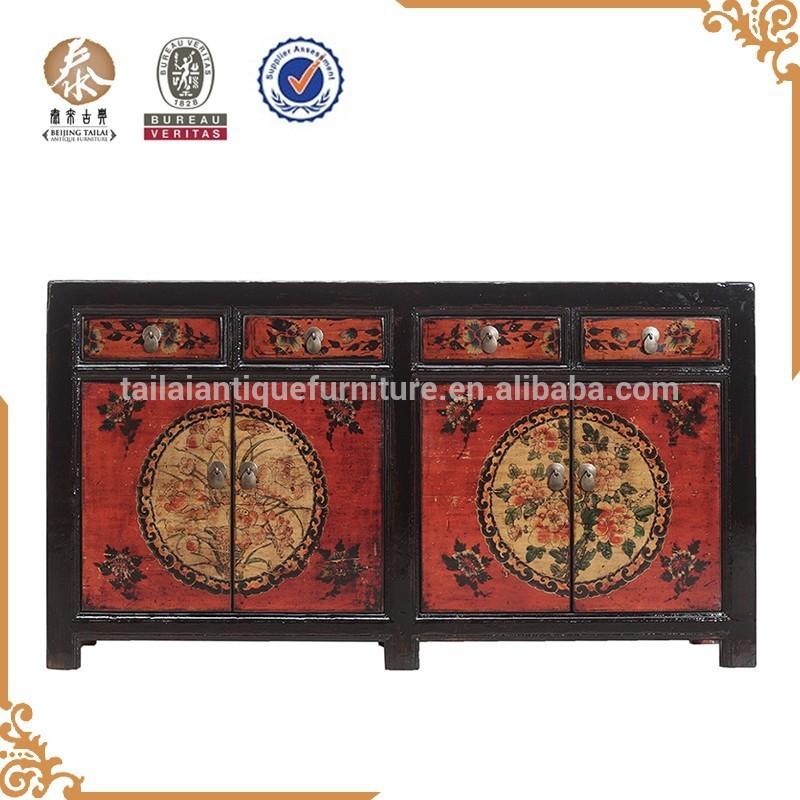 Baratos de almacenamiento de madera antiguos muebles chinos del gabinete mueble de madera - Muebles de madera baratos ...