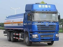 SHACMAN 6x4 270hp fuel tank truck tanker truck for sale