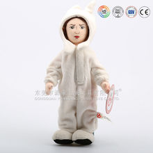Alibaba gold supplier making new design alien angel plush toy