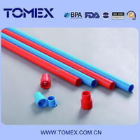 factory making plastic conduit pipe pvc conduit pipes and fittings